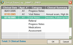 Clinical Modules - Visit Notes